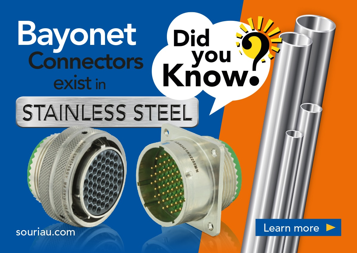 Stainless steel circular connectors