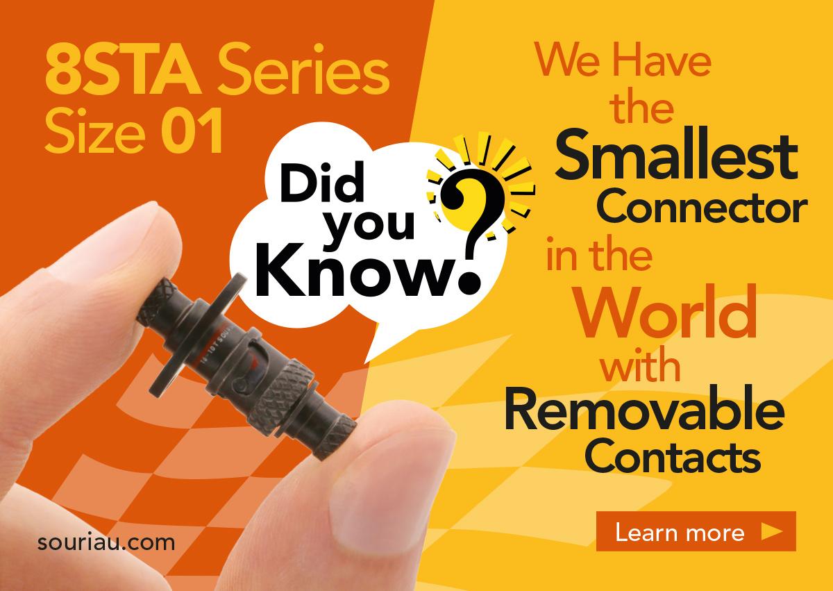 Did You Know 8STA Motorsport Connectors