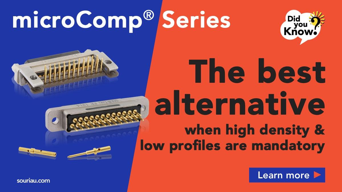 Microcomp high density connectors